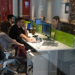 it students from FTN Čačak (UNIKG) visiting IT companies in Belgrade